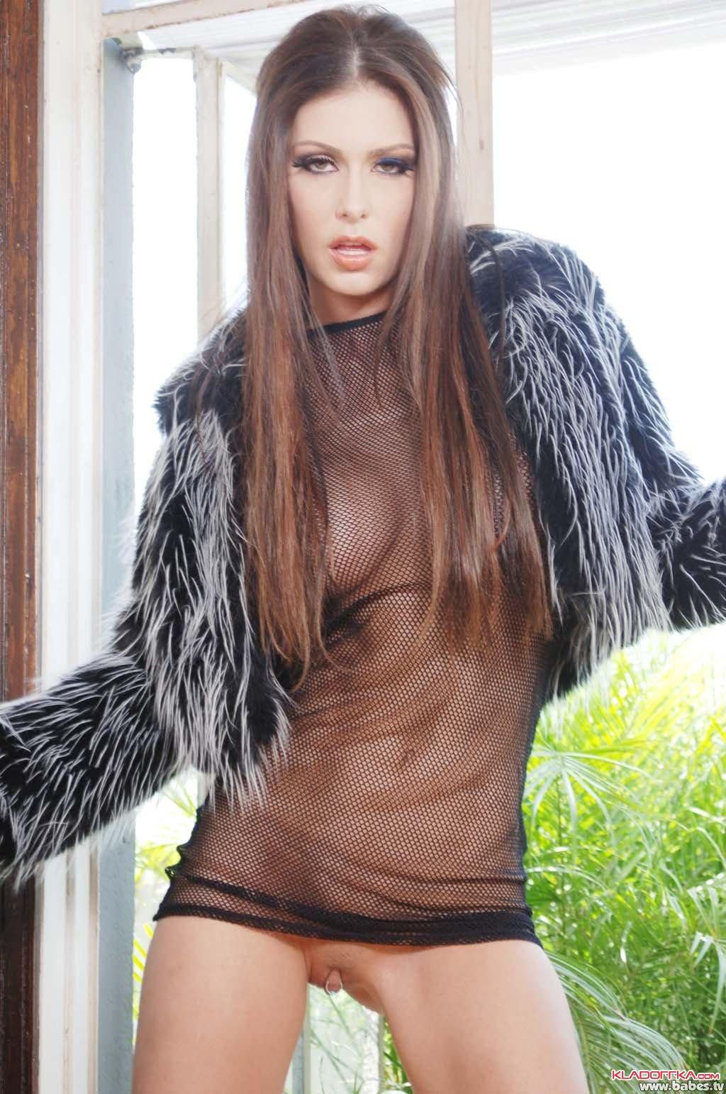 Голые просвечивающие платье фото фото 664-271