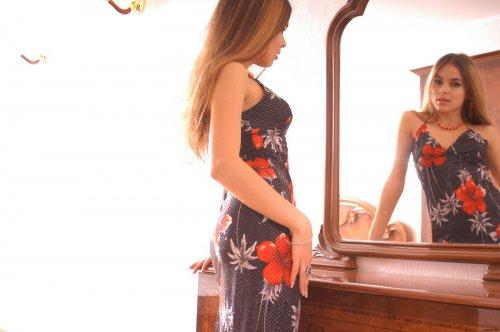 Franchesca - Near the mirror