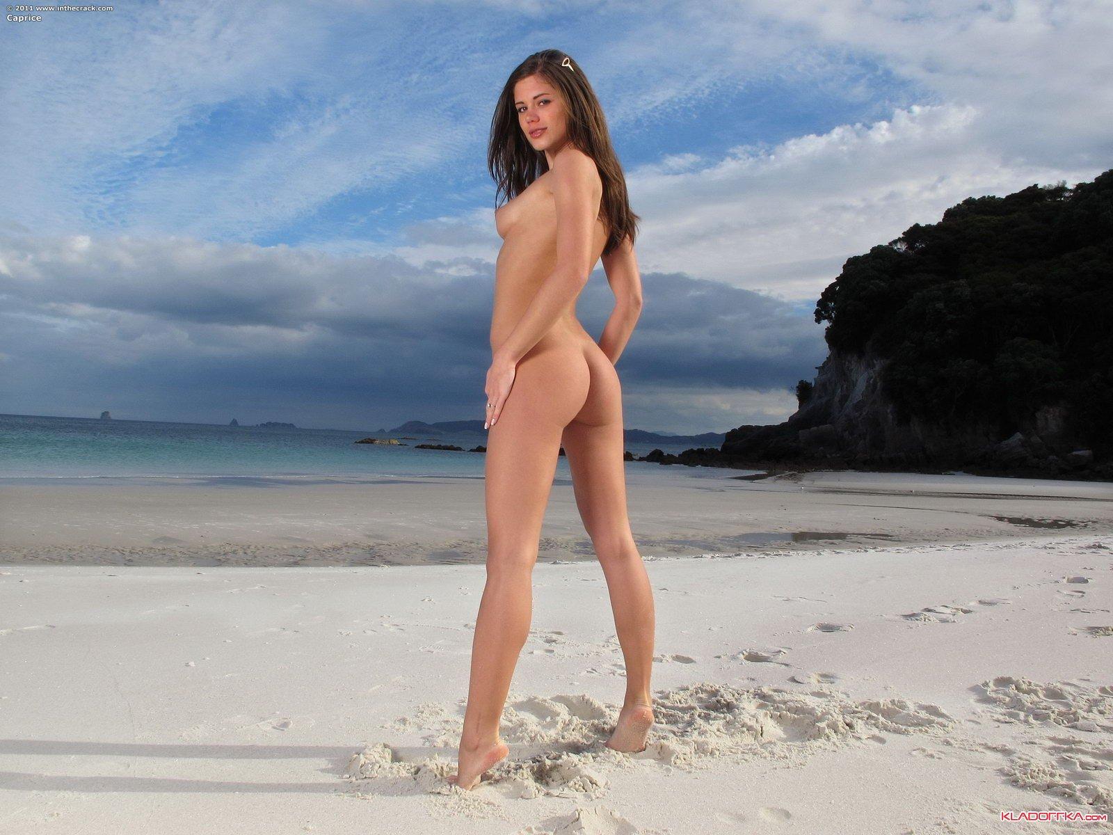 Секс нудистов на пляже, нудисты занимаются сексом.