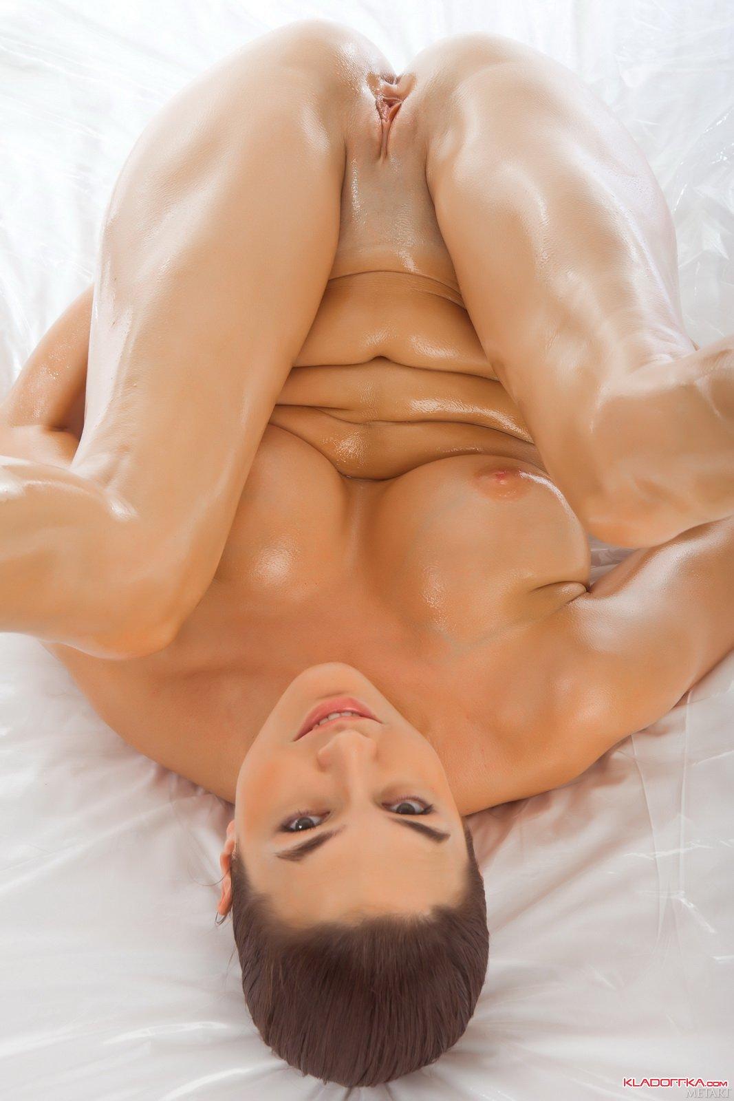 Oily Naked Women