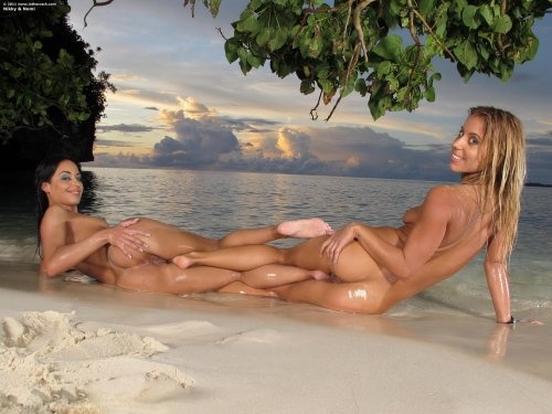 Nikky Thorne  and  Nomi Melone